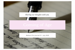 The Journal 01: Coming of Age