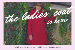Balloon Chic Trend Discussions 03: The Ladies